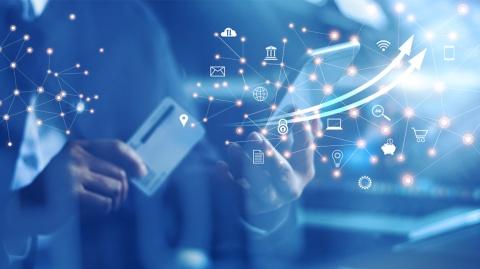 電通グループと米コンサルファームfrog designがOMO(オンラインとオフラインの融合)時代の新リテールを展望するホワイトペーパーから「金融」分野のトピックを紹介する(写真/Shutterstock)