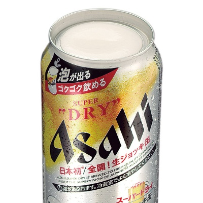 ●アサヒスーパードライ 生ジョッキ缶(アサヒビール)