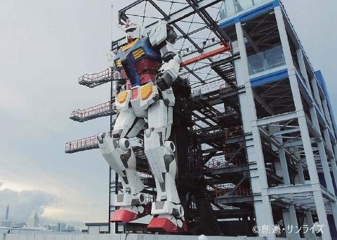 【施設】GUNDAM FACTORY YOKOHAMA