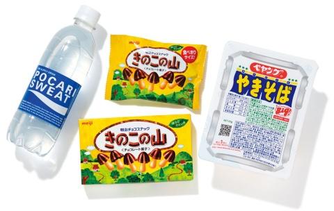 大塚製薬の「ポカリスエット」、明治のチョコレート菓子「きのこの山」、まるか食品の「ペヤング ソースやきそば」。いずれも40年以上続くロングセラー商品だ