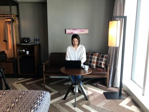 東急グループが運営する全国39カ所の宿泊施設に移り住み放題の定額サブスクが登場(写真は渋谷ストリームエクセルホテル東急の客室)