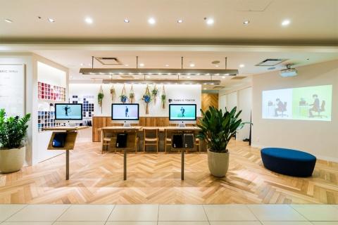 新宿マルイ 本館のFABRIC TOKYOの店舗(写真提供/FABRIC TOKYO)