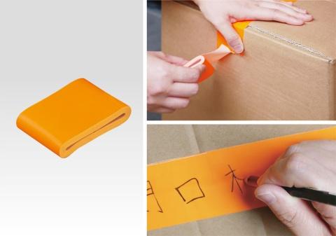 手で簡単にちぎれて、油性ペンなどで書ける(写真提供/ヤマト)