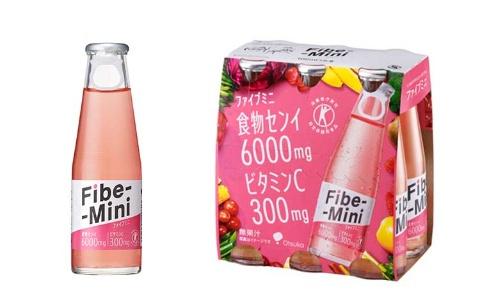 おなかの調子を整える特定保健用食品(トクホ)の炭酸飲料「ファイブミニ」