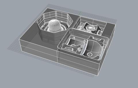 石こうの型作りも3次元データを活用する(写真提供/224porcelain)