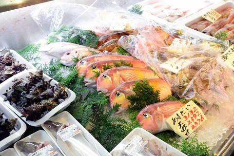 ■萩しーまーと(山口県)の「萩の地魚」