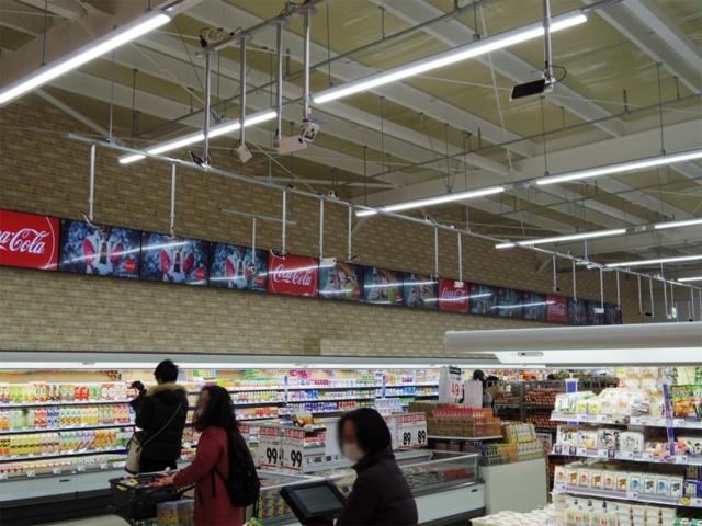 トライアルカンパニーが今年2月に福岡市にオープンした画像とAIを活用した次世代店舗