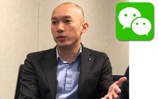 テンセントで国際ビジネス部門シニアディレクターを務めるベニー・ホー氏は、「WeChat」を活用した日本企業向けマーケティング支援を本格化させると明かす(写真 テンセント提供)