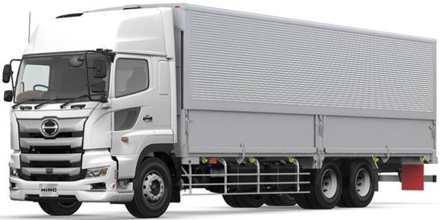 大型トラック「日野プロフィア」