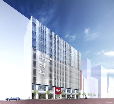 2019年4月、東京・銀座にオープンする「MUJI HOTEL GINZA」。良品計画は、コンセプトの立案と内装デザイン監修を担当し、建築設計会社のUDS(東京・渋谷)が企画、内装設計、運営および経営を手掛ける。18年6月に中国・北京に開業した「MUJI HOTEL BEIJING」の企画、内装設計、運営もUDSによるもの