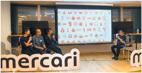 メルカリは「Design meetup リブランディングの舞台裏」と題するデザイナー向けのイベントを開催