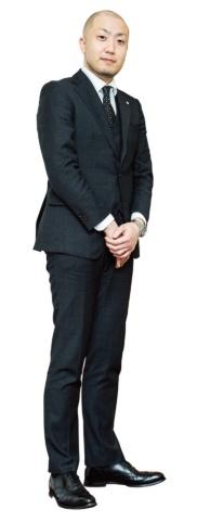大幸薬品の中澤健一郎マーケティング本部感染管理マーケティング部マネージャー(写真/谷本 夏)