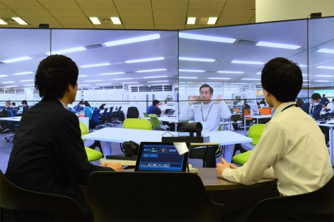 NECネッツエスアイが活用するテレビ会議システム。新型コロナ対策としても企業からの関心が高まっている
