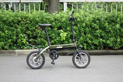 グラフィットの最初の製品は、折りたたみ電動バイクの「GFR-01」
