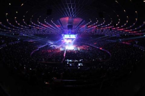 大阪城ホールで2020年2月9日に予定通り開催された新日本プロレスの「THE NEW BEGINNING in OSAKA」