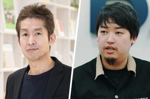 (左)note CEOの加藤貞顕氏。アスキー、ダイヤモンド社に編集者として勤務後、2011年にピースオブケイク(現note)を創業し、12年にコンテンツ配信サイト「cakes(ケイクス)」をリリース。14年にメディアプラットフォーム「note(ノート)」をスタート (右)BASE CEOの鶴岡裕太氏。大学在学中の12年にBASE創業。Eコマースプラットフォームの「BASE」に加え、グループ会社であるBASE BANKにて資金調達サービス「YELL BANK(エールバンク)」なども展開する