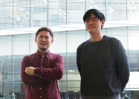 「少年ジャンプ+」の細野修平編集長(左)と『SPY×FAMILY』などの人気作を担当する編集の林士平氏(右)