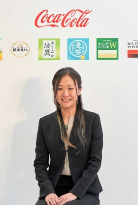 日本コカ・コーラジャパン&コリアオペレーティングユニットマーケティング本部コーヒー、ティー、スポーツ&ウォーターカテゴリー事業本部長の小林香予氏