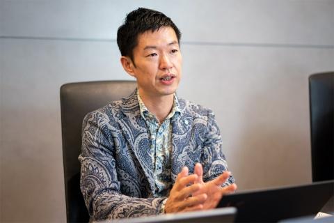 Legaseed社長の近藤悦康氏。コロナ禍にオフィスの移転拡張を決断した