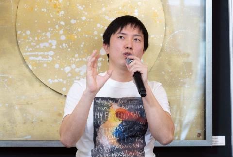 アーティストの長坂真護氏は社会性のある事業を展開することで作品の価値向上と、関わるすべての人が幸せになる仕組みを広めていきたいという