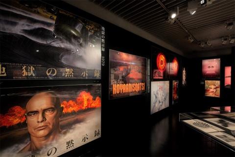 東京・銀座のggg(ギンザ・グラフィック・ギャラリー)で20年12月から21年3月にかけて開催された「石岡瑛子 グラフィックデザインはサバイブできるか」展。Photo:Mitsumasa Fujitsuka