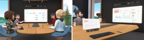 フェイスブックは、メタバース関連サービスの開発を加速。21年8月には、VR用のワークスペース「Horizon Workrooms(ホライズン・ワークルーム)」を発表