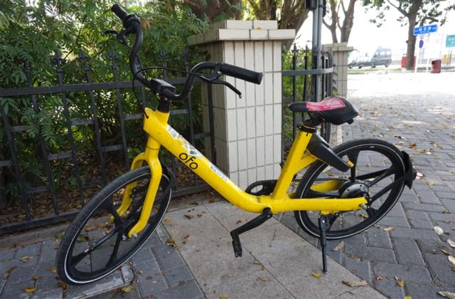 オフォの最新の自転車。プラスチック製のスポークが特徴