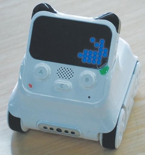 AIの仕組みを学べる最新ロボット「codey rocky」