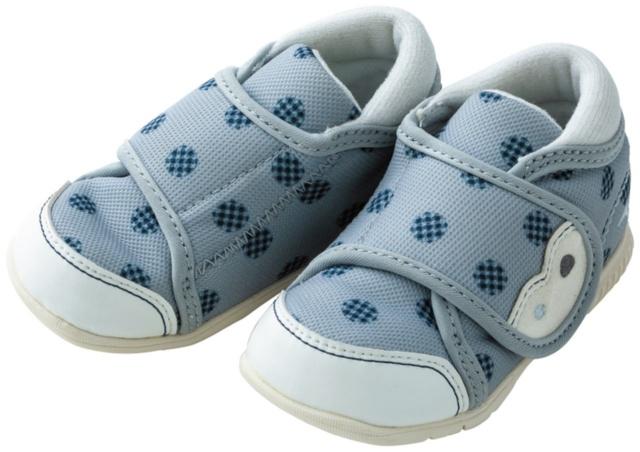 競技用のソール設計を応用した赤ちゃん専用シューズ(画像)