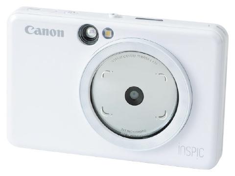 携帯しやすいカメラ付きプリンター 撮った写真がすぐシールに(画像)