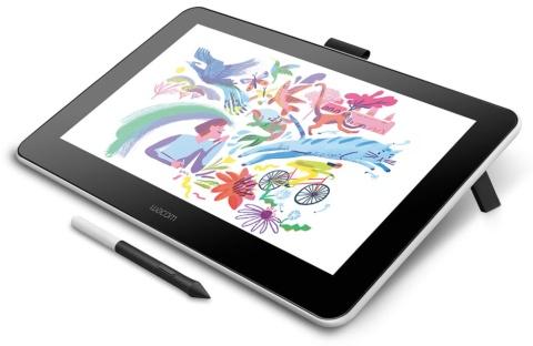 ワコムの大型ペンタブレット 手持ちのPCやスマホで手書き可能(画像)