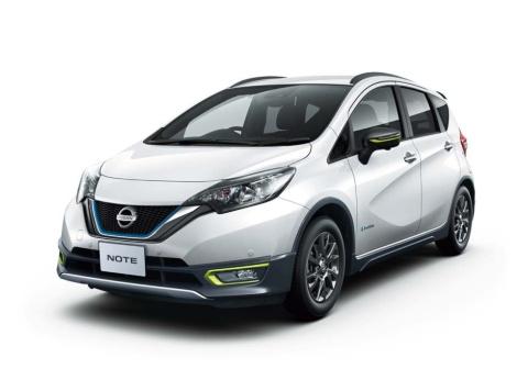 2018年12月10日、日産自動車は「ノート」に特別仕様車「ノート C-Gear Limited」を追加したと発表、さらなる攻勢をかけた(日産自動車のサイトより)