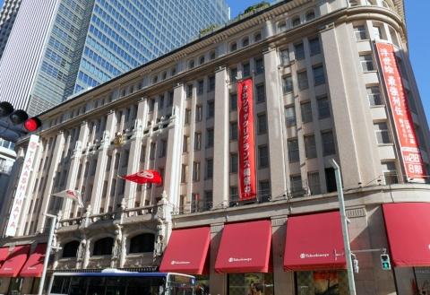 高島屋の国内13店舗の売上高は同0.5%減で、2カ月ぶりにマイナス