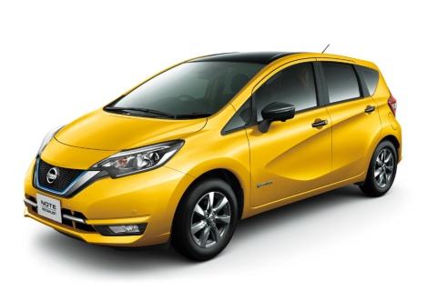 日産自動車「ノート」が、乗用車では2018年の年間販売台数13万6324台とトップに