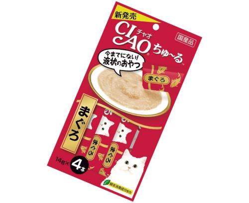 気ままな猫でもなめ続ける最強おやつ「CIAOちゅ~る」(画像)