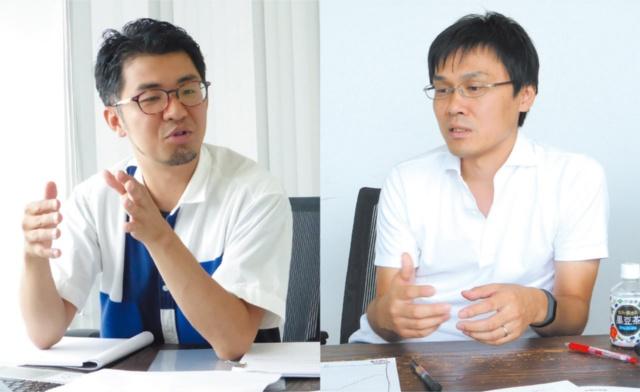 左:佐宗邦威●BIOTOPE代表 右:小林乙哉●東京急行電鉄 都市創造本部 戦略事業部 事業統括部 企画課 課長補佐