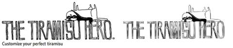 左:本家が以前から使っていたロゴマーク 右:HERO'Sを運営する株式会社gram(大阪)が日本で17年に出願した商標(18年8月登録)