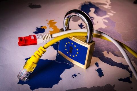 域外への個人データの移転を規制する欧州のイメージ(写真/Shutterstock)