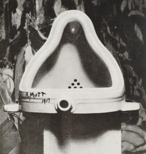 マルセル・デュシャンの作品「泉」