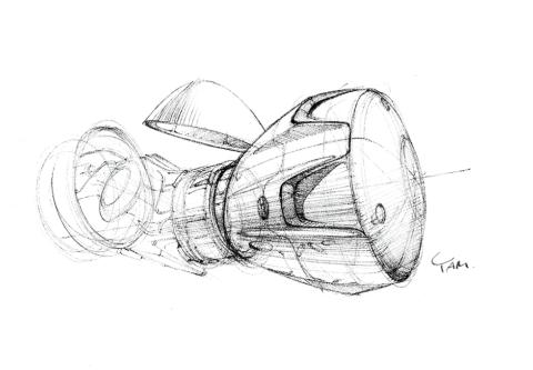 ドッキング中のCrew Dragon想像図。現時点では、カーゴユニットなしの与圧カプセルだけがISSに接続された運用事例はない