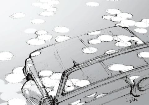 車両は著者が所有していたスズキジムニー550 SJ30 キャンバストップ
