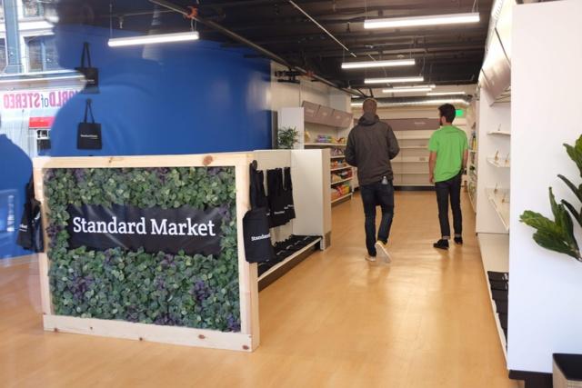 米サンフランシスコにオープンしたスタンダード・コグニション実験店舗の店内