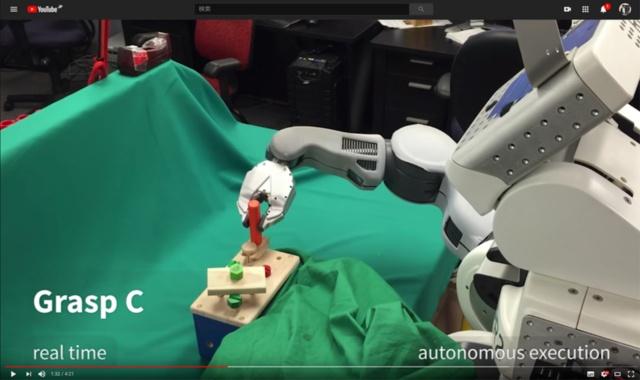 ロボティクスタスクの例。https://www.youtube.com/watch?v=Q4bMcUk6pcwの動画中より引用