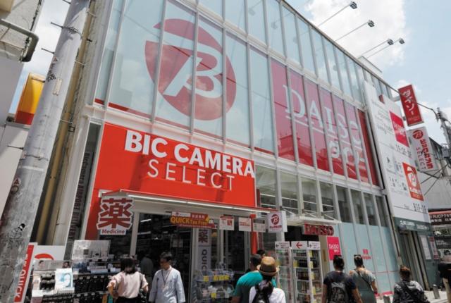 ビックカメラセレクト原宿店(東京都渋谷区)