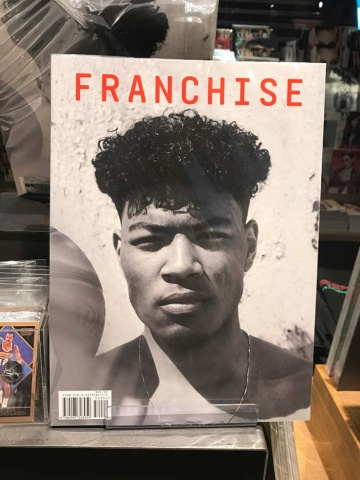 「FRANCHISE×Rui Hachimura」の代官山 蔦屋書店限定カバーはコラージュアーティスト・河村康輔氏が手掛けた