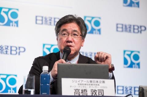 鉄道会社としての使命を語るジェイアール東日本企画の高橋敦司常務
