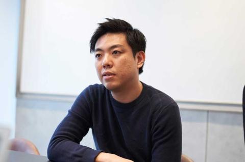 SHOWROOMでデザイン経営を主導する唐沢俊輔氏(写真/名児耶 洋)