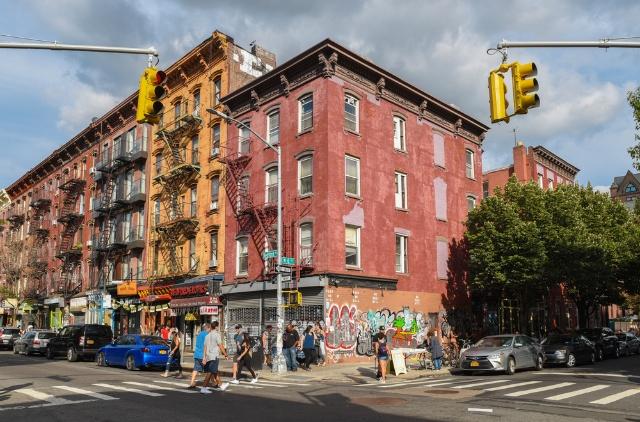 ブルックリンのウィリアムズバーグは観光地としても人気のエリア(写真/Shutterstock)