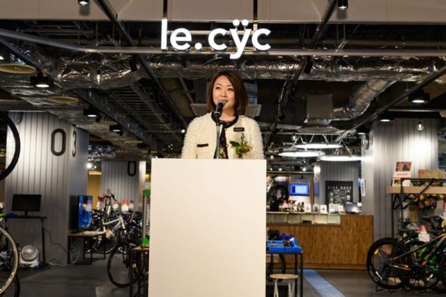 「プレイアトレ土浦」の開発を手掛けたアトレの藤本沢子・土浦店課長兼プロジェクトリーダー。「モノ消費」ではなく「コト消費」にシフトした
