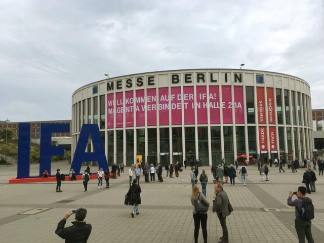 欧州最大の家電見本市「IFA2018」の会場